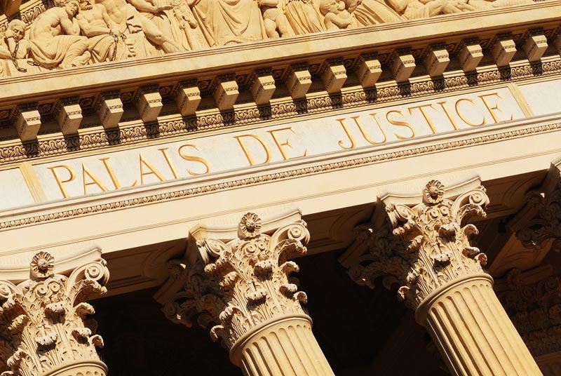 image illustrant le palais de justice à Paris en Ile de france